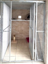 Cattery Facilities at Lakeside Kennels & Cattery, Dungloe, Co. Donegal, Ireland with spacious accommodation and outside exercise facilities