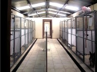 Kennels at Lakeside Kennels & Cattery, Dungloe, Co. Donegal, Ireland