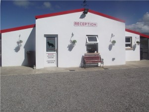 Reception at Lakeside Kennels & Cattery, Dungloe, Co. Donegal, Ireland